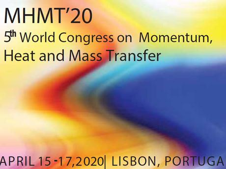 5th World Congress on Momentum, Heat and Mass Transfer
