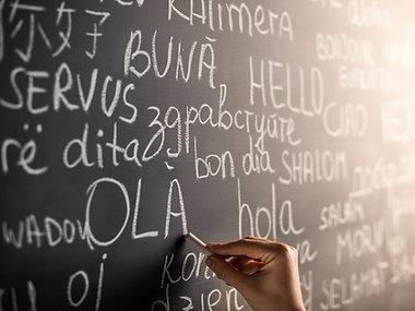 Parliamo tre lingue