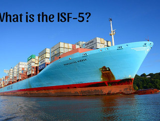 What is the ISF 5 filing?