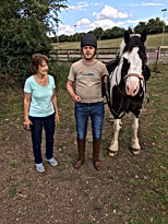 A rider with his mother and Danny Boy.jp