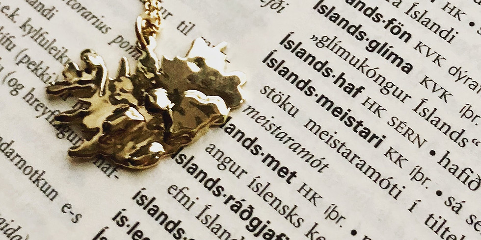 Sædís Bauer Jewelry will be at the Icelandic Christmas Bazaar