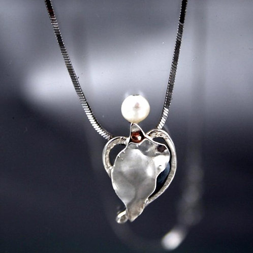 Silver Guardian on a Heart