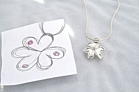 Friendship-pendant-heart-pink-stone