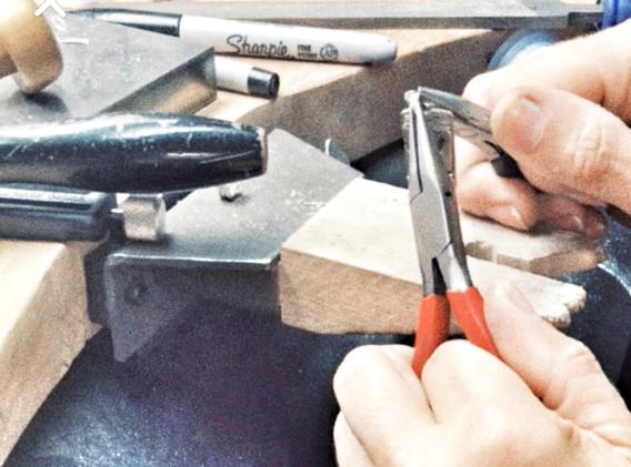 Handmade linked bracelet