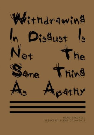WITHDRAWING IN DISGUST