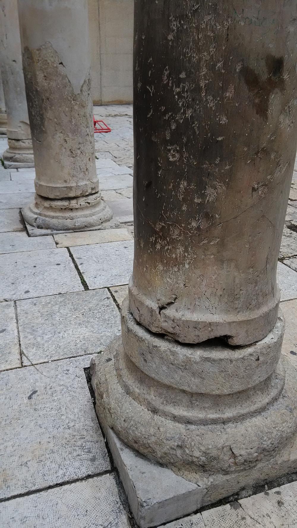 Jerusalemissa voi tuntea historian havinan.