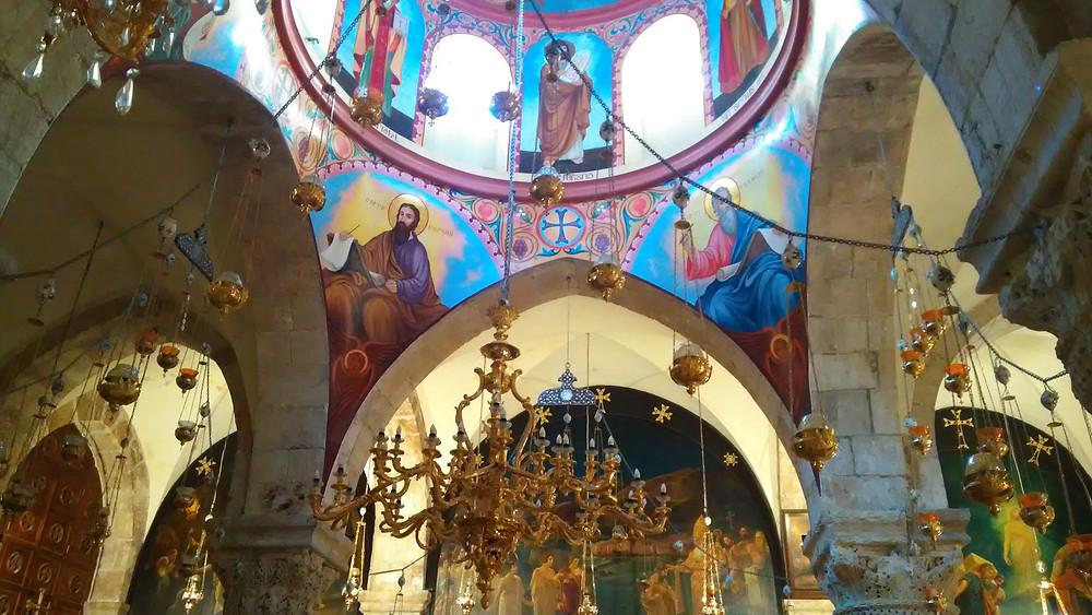 2017 voitiin todistaa Pyhän Haudan kirkon autenttisuus.