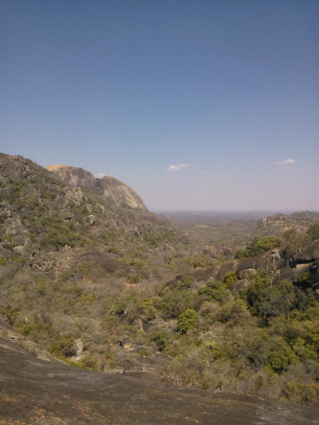 Matobon kukkulat ovat UNESCO:n maailmanperintökohde.