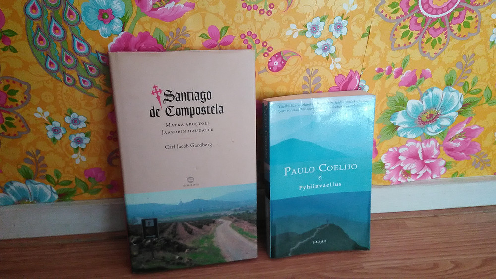 Santiago de Compostelasta on kirjoitettu useita kirjoja.