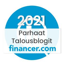 Äänestys: Kulta-Into paras talousblogi 2021