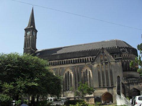 Old Slave Market / anglikaaninen katedraali