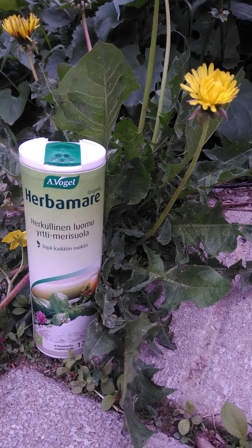 Herbamare on herkullinen vaihtoehto tavalliselle suolalle.