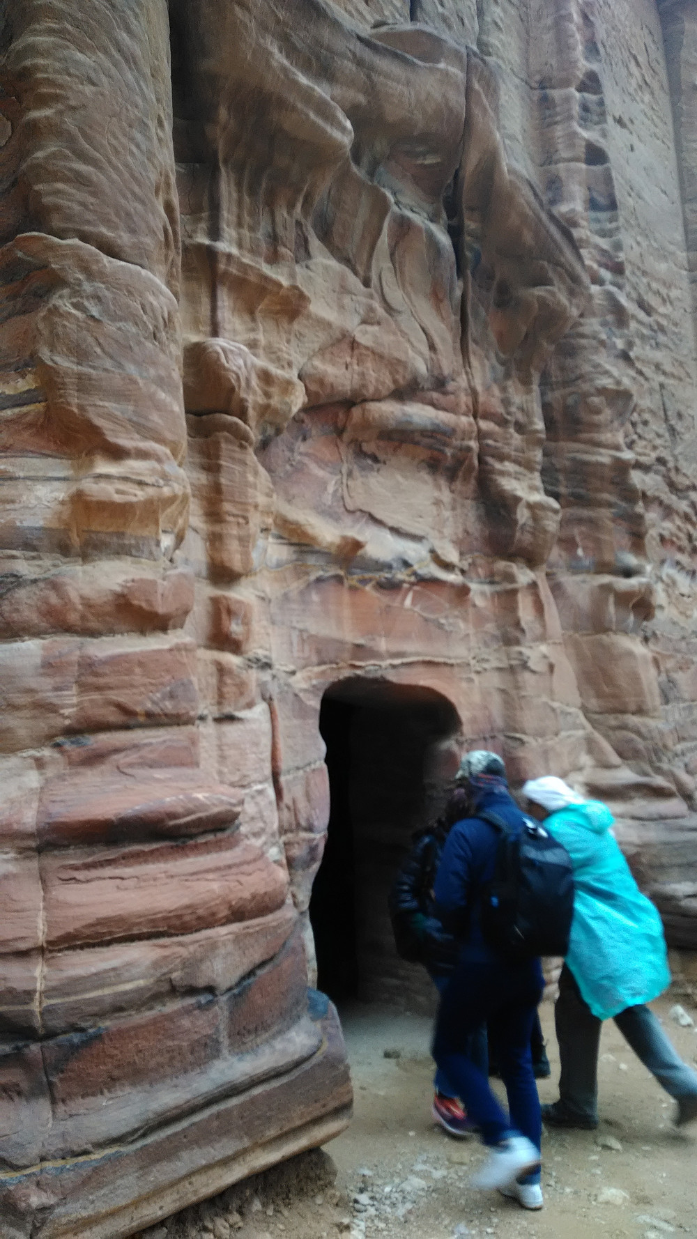 Petran hautakammioissa pääsee piipahtamaan.