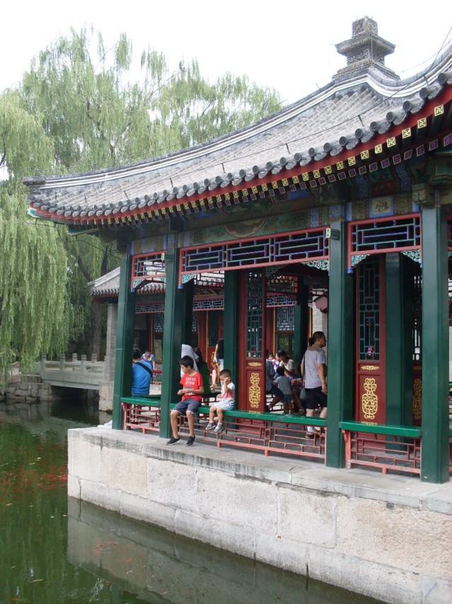 Kesäpalatsi on vanha keisarillinen lomapaikka.