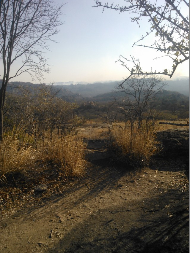 Zimbabwen luonto jäi mieleen.