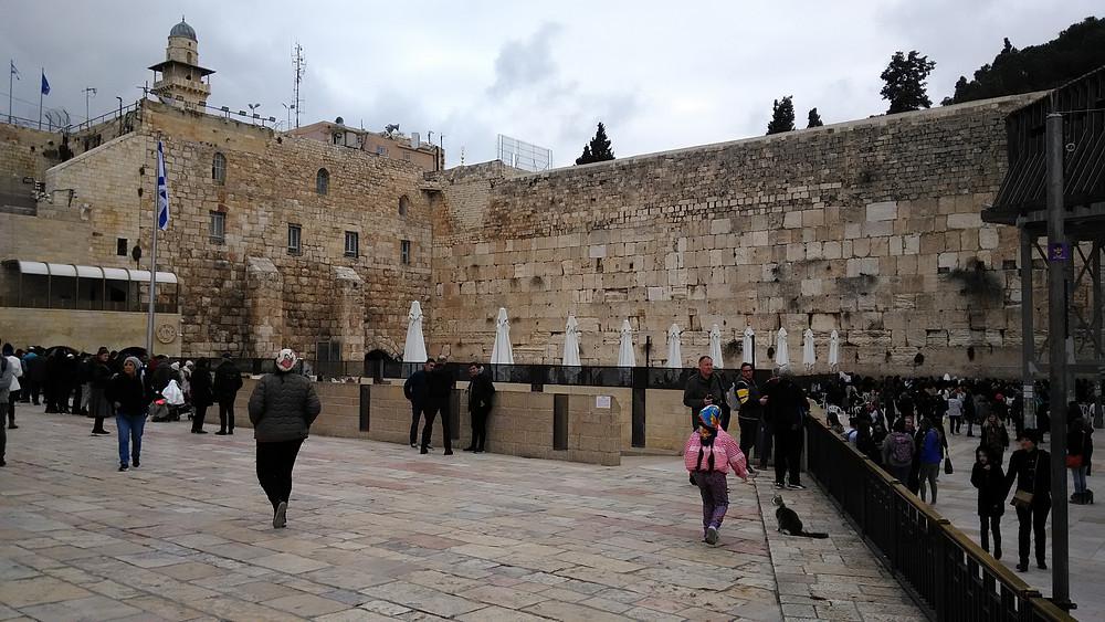 Yksi vanhimmista rakennelmista Jerusalemissa on Itkumuuri.