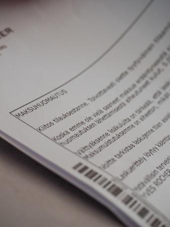 Maksuvaikeudet voivat johtaa ulosottoon.