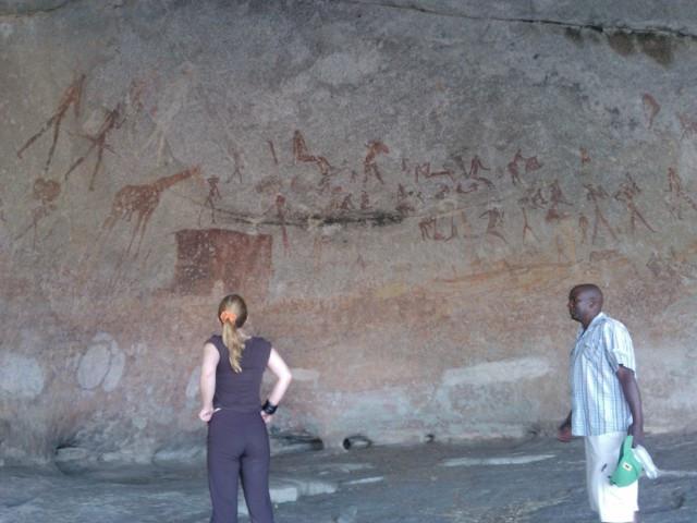Matobon alueella on kalliomaalauksia ajalta noin 11 000 eKr.