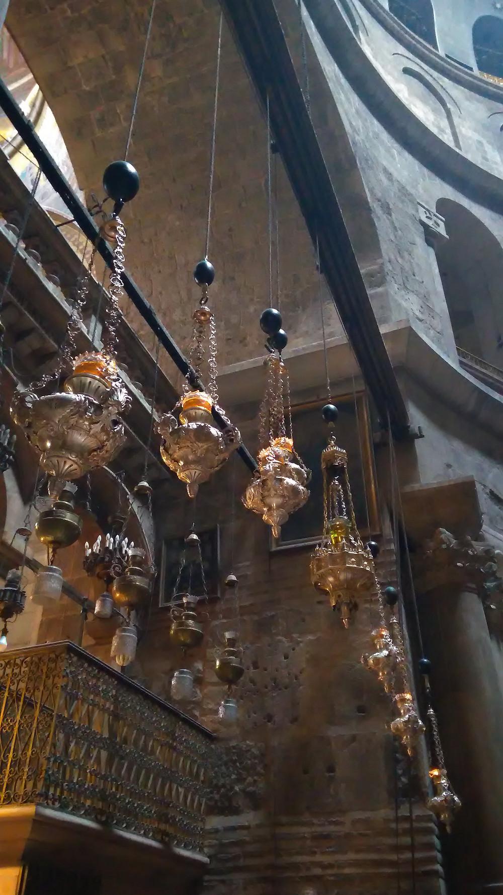 Pyhän Haudan kirkko on täynnä upeita yksityiskohtia.