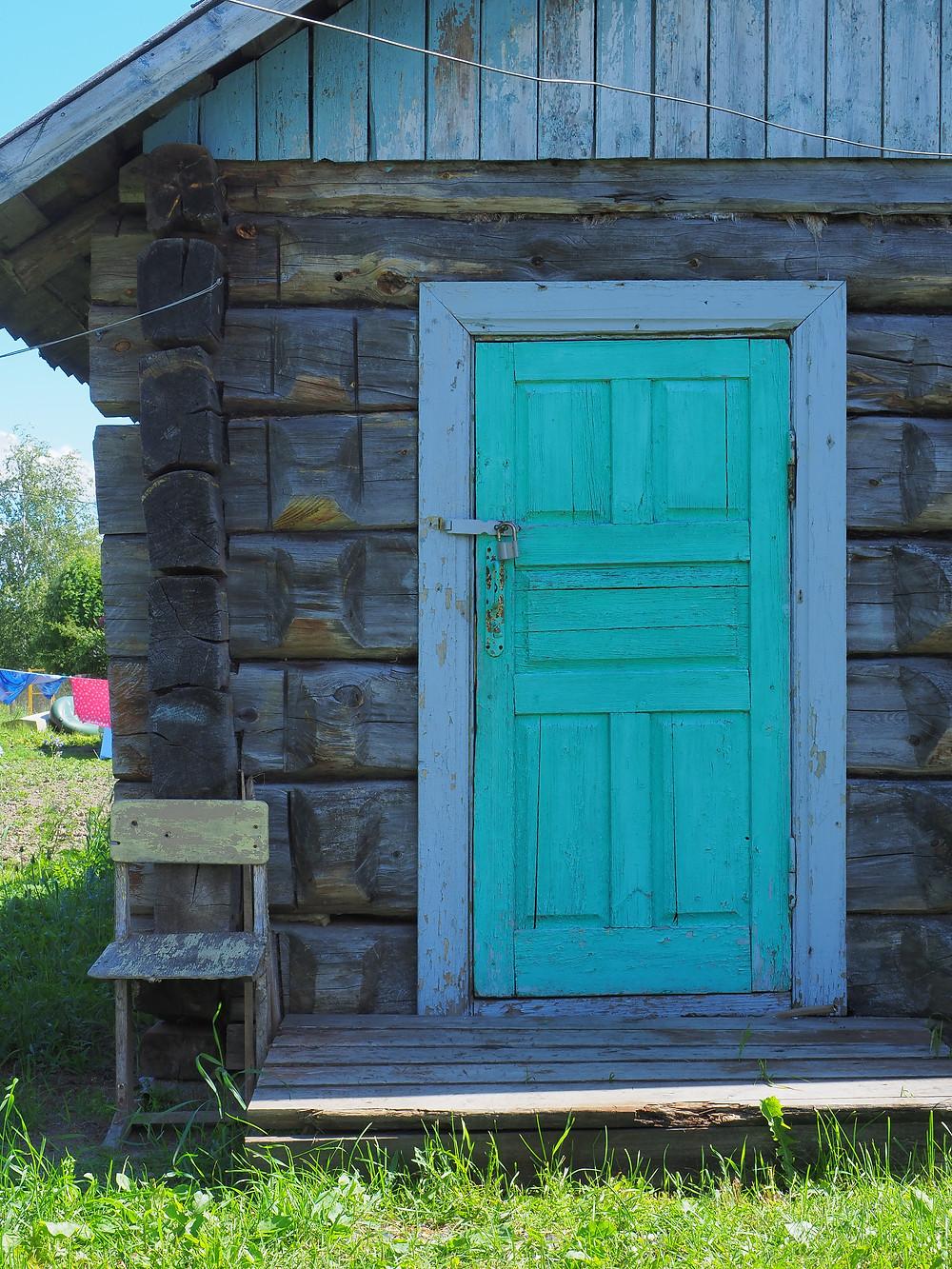 Vienalainen kyly löytyy tämän oven takaa.