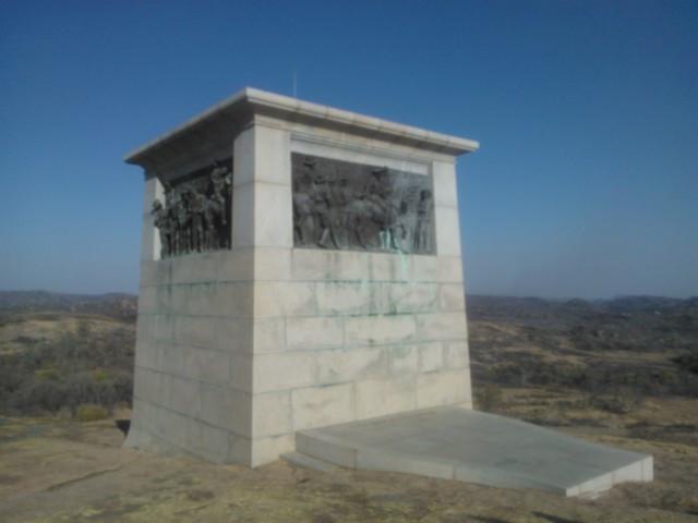 Cecil Rhodesin (1853–1902) hauta.
