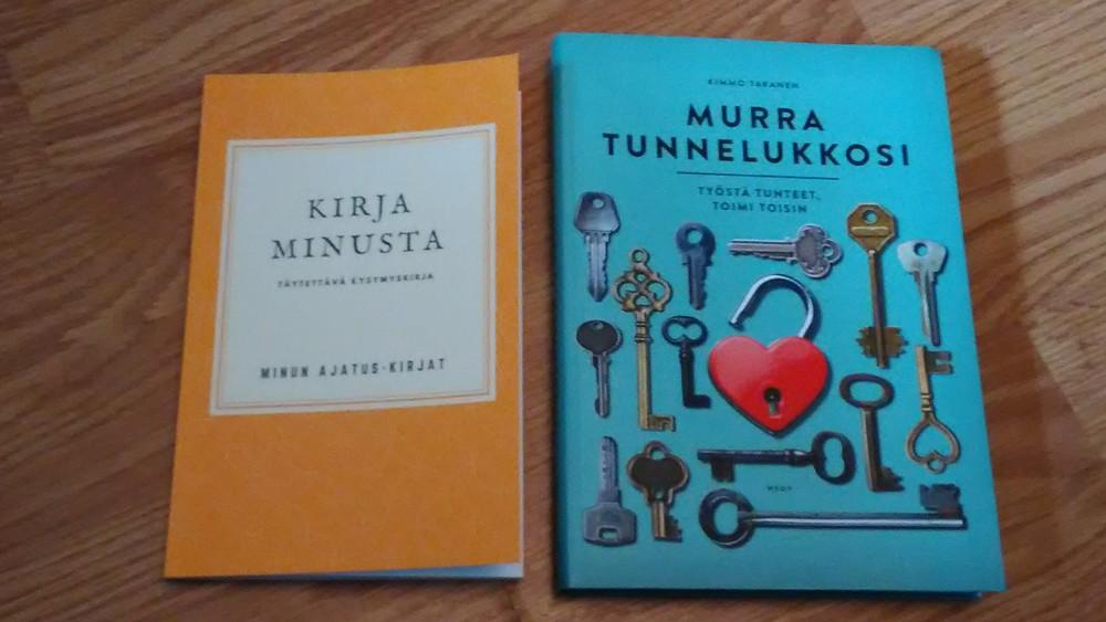 Kirja minusta ja Murra tunnelukkosi