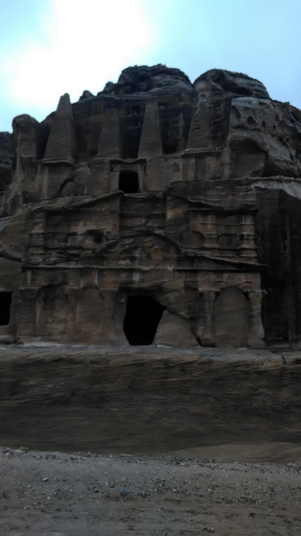 Petraa alettiin rakentaa noin 500 eKr.