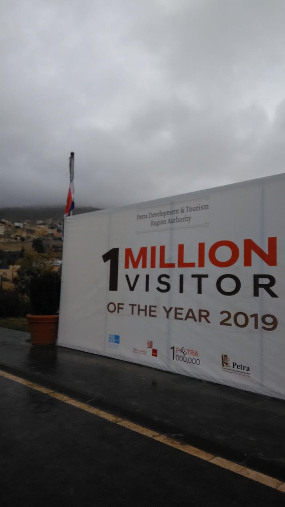 Vuonna 2019 Petrassa vieraili miljoona turistia.
