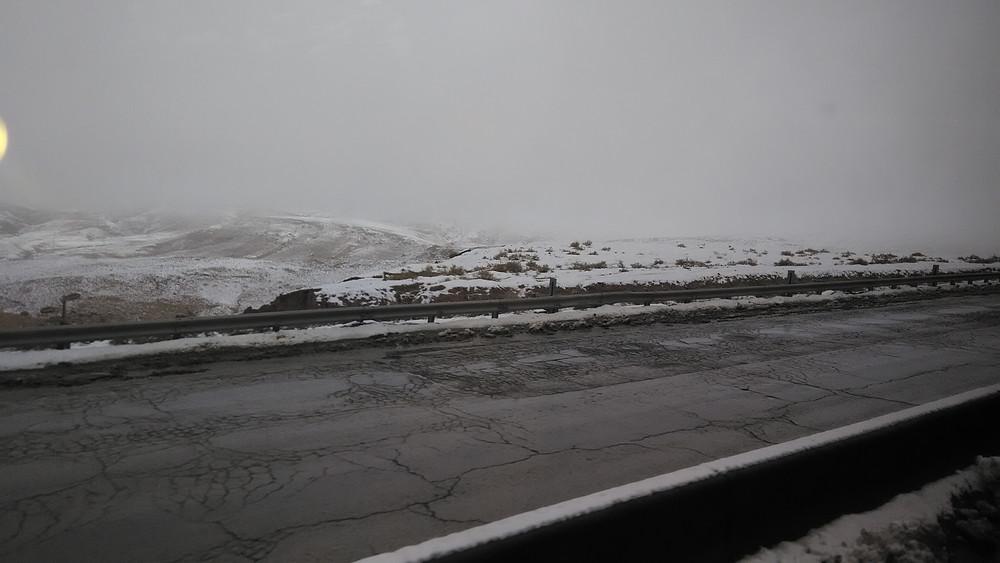 Jordaniassa sataa vain harvoin lunta.
