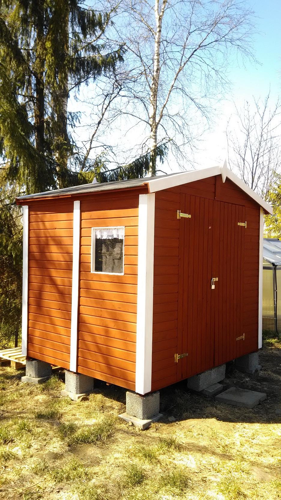 Suomen ainoa apiterapiamaja on valmis.