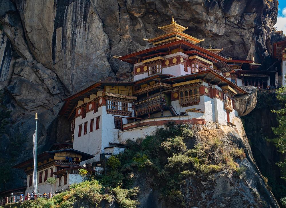 Jokainen bhutanilainen pyrkii käymään Tiikerinpesä-luostarissa ainakin kerran.