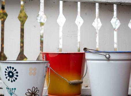 Vähennä veden kulutusta: hyödynnä sadevesi ja osta ekovessa / kuivakäymälä