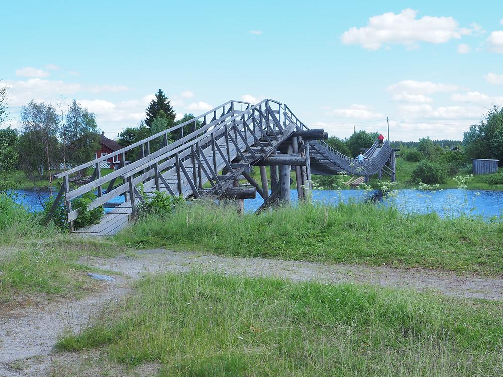 Näistä silloista Jyskyjärvi tunnetaan.