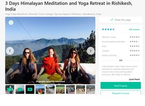 3 päivää ja 2 yötä kestävä miniretriitti Himalajalla maksaa 88e.