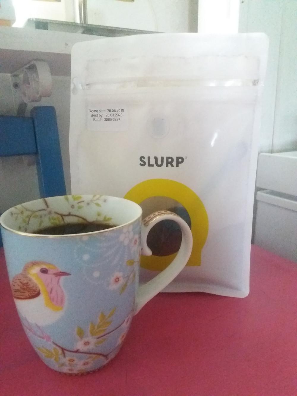 Slurp-kahvi on arjen luksusta suht' halvalla.