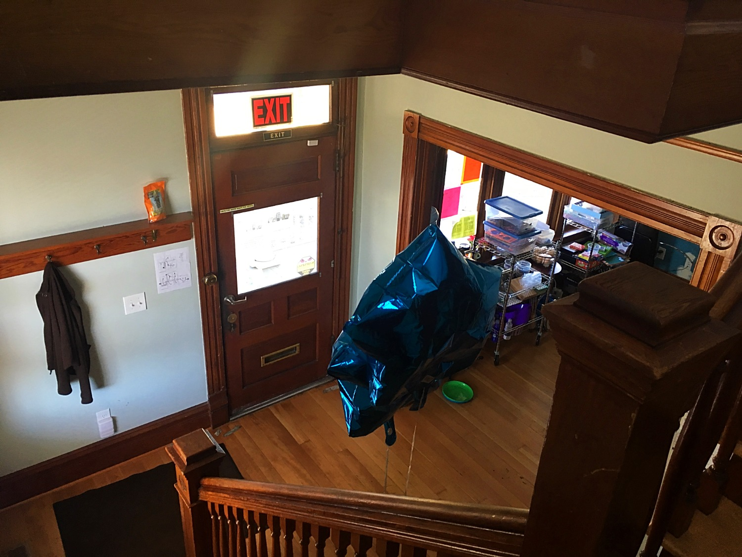 Looking from the Stairwell