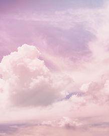 rosa Wolken