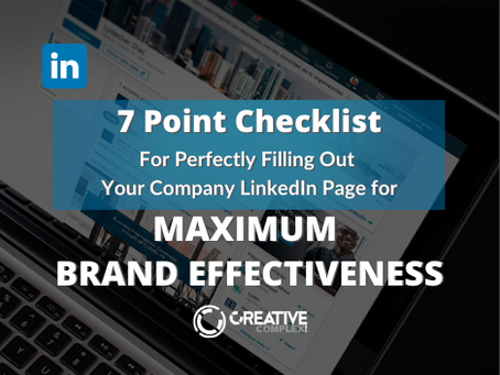 7-Point Checklist for Perfectly Filling Out Your Company LinkedIn Page
