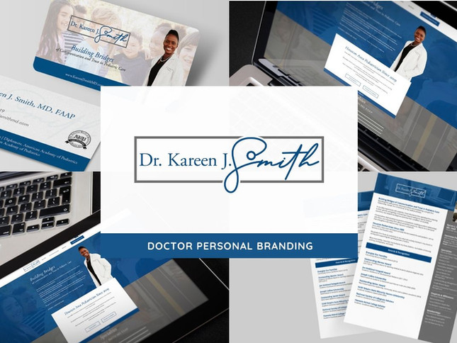 Dr. Kareen Smith Branding a Pediatrician by Creative Complex