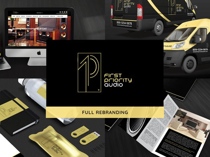 First Priority Audio Rebranding by Creative Complex