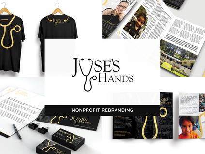 Jose's Hands Rebranding by Creative Complex