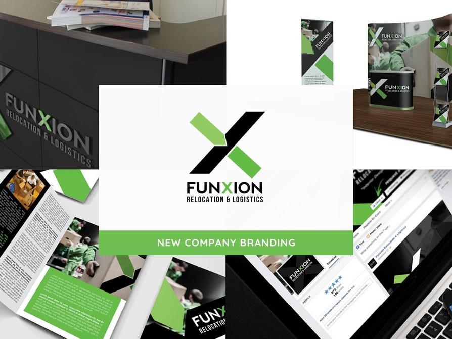 Funxion Relocation Logistics Branding by Creative Complex