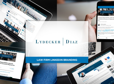 LinkedIn Branding for a Law Firm