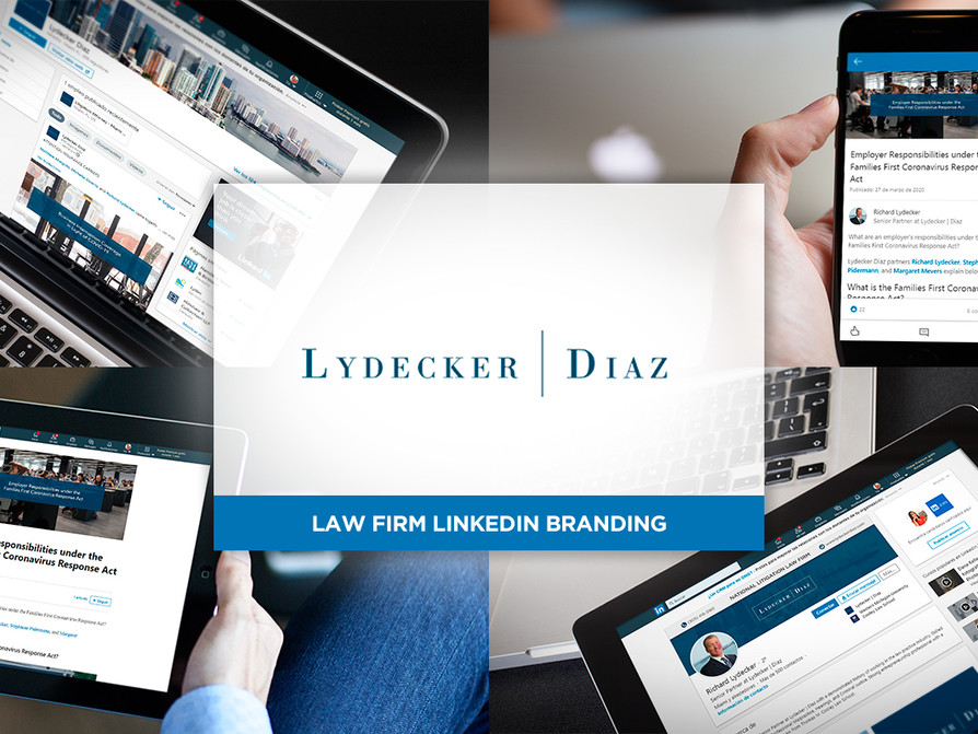 LinkedIn Branding for Law Firm by Creative Complex
