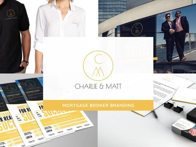 Charlie & Matt Branding by Creative Complex