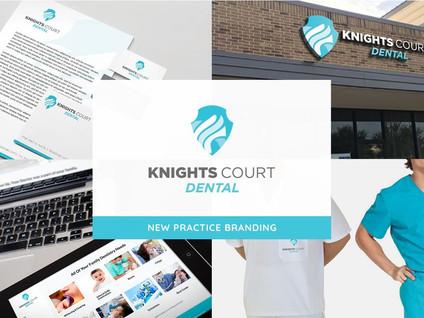 Knights Court Dental Branding by Creative Complex