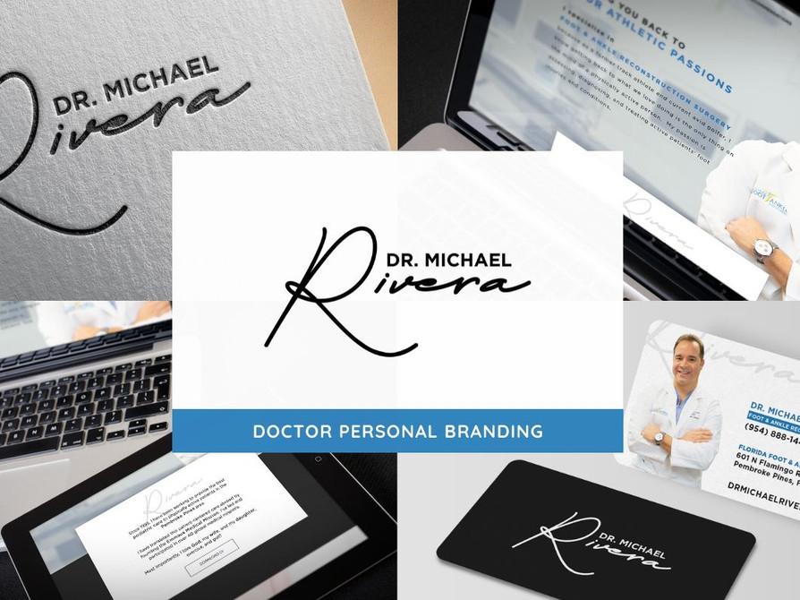 Dr Michael Rivera Branding by Creative Complex