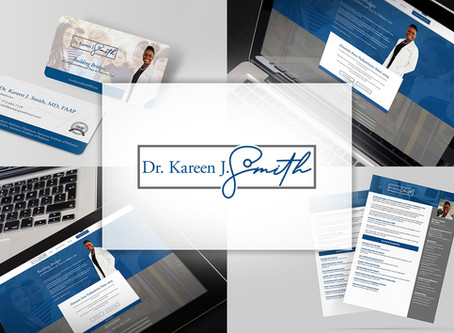 Dr. Kareen J. Smith |  Branding a Pediatrician