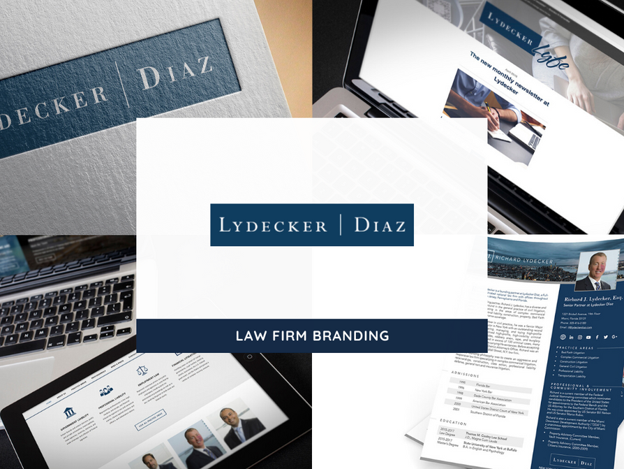 Lydecker Diaz Rebranding by Creative Complex