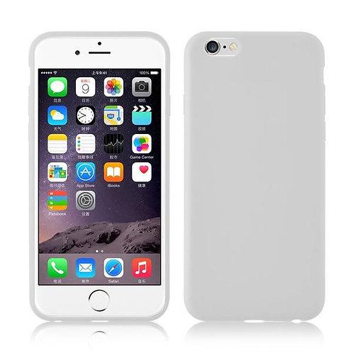 Калъф цветен силикон /Сребърен/ за iPhone 7G / 8G 4.7 / SE (2020)